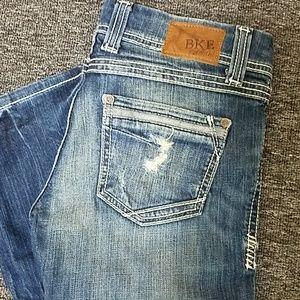 BKE jeans size 27/31,1/2 lenth. EUC